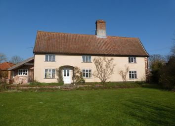 Thumbnail 7 bed farmhouse to rent in Ringsfield Common, Ringsfield, Beccles