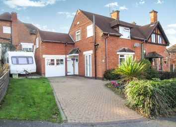 Thumbnail 3 bed semi-detached house for sale in Queens Drive, Littleover, Derby