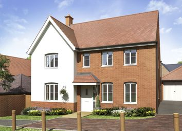 "Thumbnail 4 bedroom detached house for sale in ""Chelworth"" at Locksbridge Road, Picket Piece, Andover"