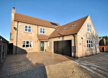 Thumbnail 6 bed detached house for sale in Gosmoor Lane, Elm, Wisbech