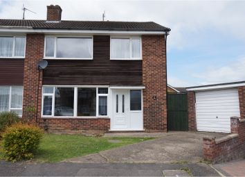 Thumbnail 3 bed semi-detached house for sale in Kilby Close, Wellingborough