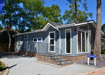 Thumbnail 2 bed mobile/park home for sale in Lone Pine Drive, West Parley, Ferndown