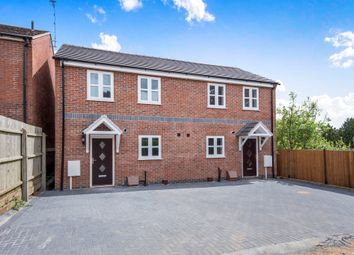 Thumbnail 2 bedroom semi-detached house for sale in Chapel Street, Oadby, Leicester