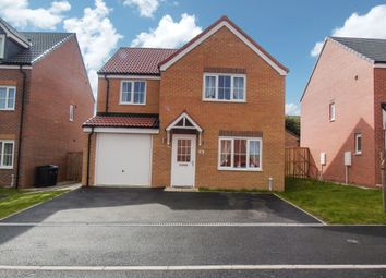 Thumbnail 4 bed detached house for sale in Oxford Close, Peterlee