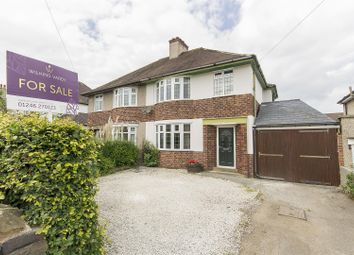 3 bed semi-detached house for sale in Highfield Lane, Newbold, Chesterfield S41