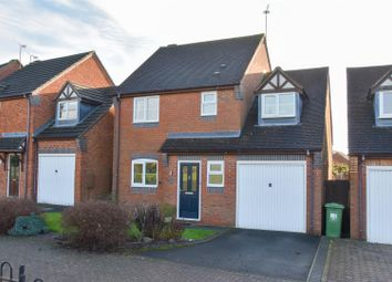 Thumbnail 4 bed detached house for sale in Justice Close, Whitnash, Leamington Spa