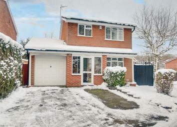 Thumbnail 3 bed detached house for sale in Welford Close, Oakenshaw South, Redditch