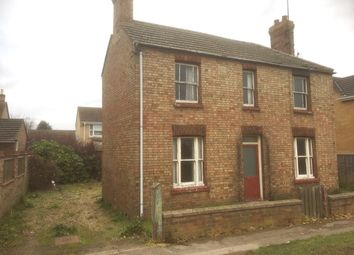 Thumbnail 3 bed detached house for sale in March Road, Coates, Peterborough