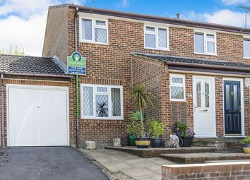 Thumbnail 3 bed semi-detached house for sale in Wesley Road, Kings Worthy, Winchester