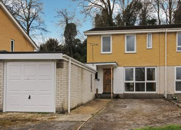 Thumbnail 3 bed semi-detached house for sale in Bury Hill Close, Anna Valley, Andover