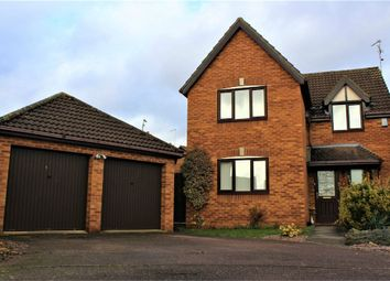 Thumbnail 4 bed detached house for sale in Lamport Close, Market Deeping, Peterborough