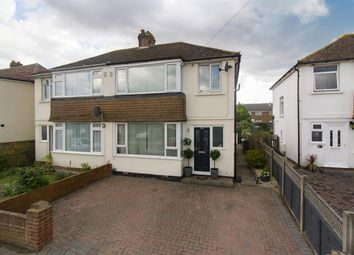 Thumbnail 3 bed semi-detached house for sale in Poulders Gardens, Sandwich