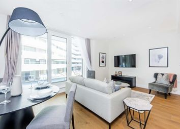 Thumbnail 1 bed flat to rent in Altissima House, Chelsea Bridge Wharf, London
