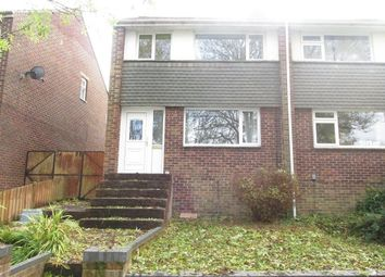 Thumbnail 3 bed semi-detached house to rent in Crowther Close, Southampton