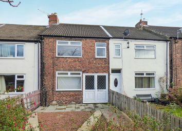 Thumbnail 3 bed terraced house for sale in Milbank Terrace, Station Town, Wingate