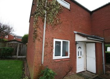 Thumbnail 3 bed end terrace house to rent in Woodbridge Close, Rushall, Walsall