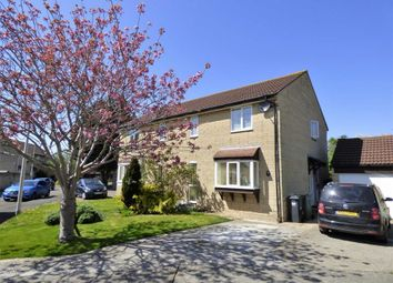 Thumbnail 4 bed semi-detached house for sale in Stodelegh Close, Weston-Super-Mare