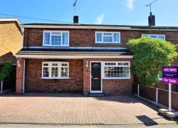 Thumbnail 3 bed semi-detached house for sale in Devonshire Close, Basildon