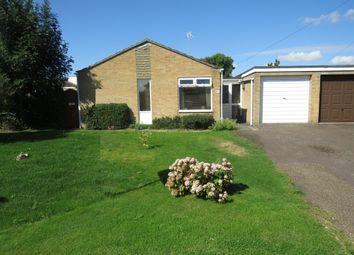 Thumbnail 3 bed detached bungalow for sale in Broadgate Lane, Deeping St. James, Peterborough