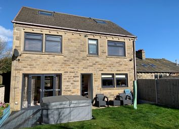Thumbnail 6 bed detached house for sale in Shibden Head Lane, Queensbury, Bradford