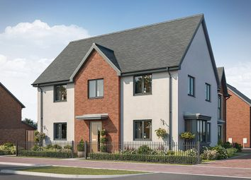 "Thumbnail 4 bed property for sale in ""The Somerton"" at Elmswell Gate, Wavendon, Milton Keynes"