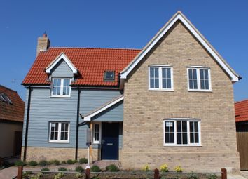 Thumbnail 3 bed detached house for sale in The Butts, Debenham, Stowmarket