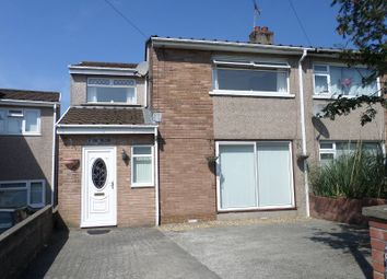 Thumbnail 3 bed semi-detached house to rent in Cae Talcen, Pencoed, Bridgend, Mid. Glamorgan.