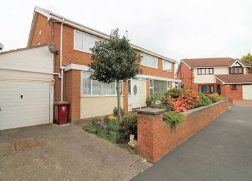 Thumbnail 3 bedroom semi-detached house for sale in Loxley Place, Cleveleys