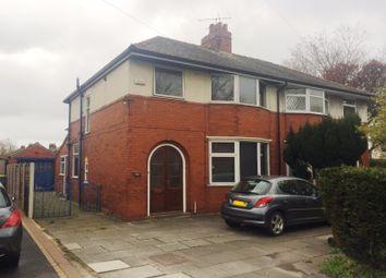 Thumbnail 3 bed semi-detached house to rent in Watling Street Road, Fulwood, Preston