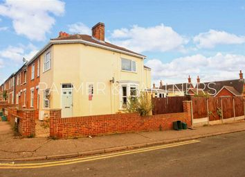 Thumbnail 3 bed end terrace house for sale in Weston Road, New Town, Colchester