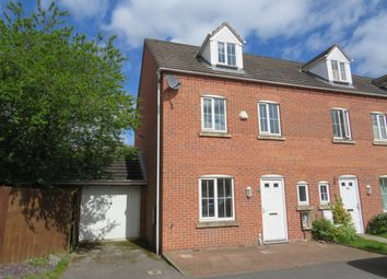 Thumbnail 4 bedroom end terrace house for sale in Mardling Avenue, Nottingham