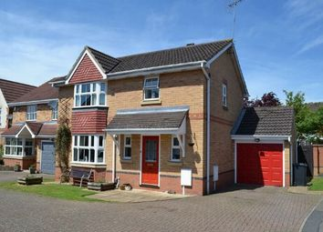 Thumbnail 3 bed detached house for sale in Riverstone Way, Hunsbury Meadows, Northampton