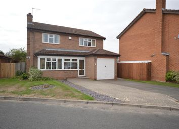 Thumbnail 4 bed detached house for sale in The Burrows, Narborough, Leics