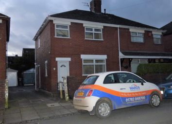 Thumbnail 3 bedroom semi-detached house to rent in Clanway Street, Tunstall, Stoke-On-Trent
