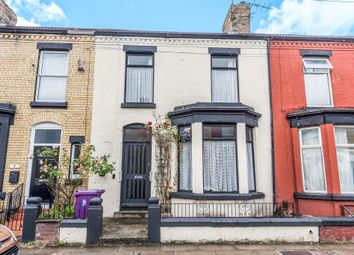 Thumbnail 4 bedroom terraced house for sale in Barrington Road, Wavertree, Liverpool