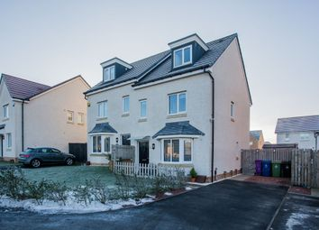 Thumbnail 3 bed semi-detached house for sale in Crowhall Drive, Glasgow