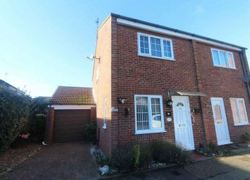 Thumbnail 2 bed semi-detached house for sale in Clover Way, Bradwell, Great Yarmouth