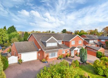 Thumbnail 6 bed detached house for sale in Rectory Road, Wanlip, Leicester