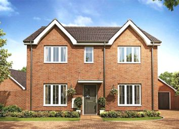 Thumbnail 4 bed detached house for sale in Heather Gardens, Off Back Lane, Hethersett, Norwich