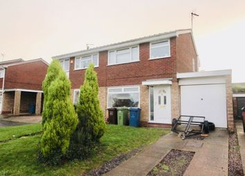 Thumbnail 3 bed semi-detached house for sale in Cherrywood Close, Stafford