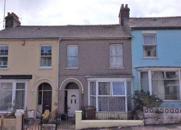 Thumbnail 3 bed terraced house for sale in Elm Road, Mannamead, Devon