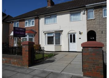 Thumbnail 3 bed terraced house for sale in Fairmead Road, Liverpool, Norris Green.