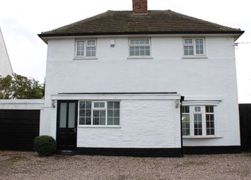 Thumbnail 4 bed detached house to rent in Uppingham Road, Houghton-On-The-Hill, Leicester