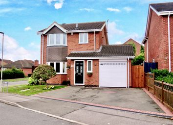 Thumbnail 3 bed detached house for sale in Murray Close, Broughton Astley, Leicester