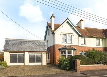 Thumbnail 4 bed semi-detached house for sale in King Edward Road, Axminster, Devon