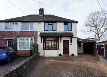 Thumbnail 3 bed semi-detached house for sale in Longfield Avenue, Stone