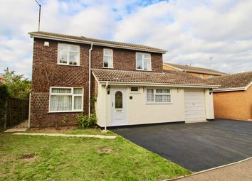 Thumbnail 4 bed detached house to rent in Royle Close, Orton Longueville, Peterborough