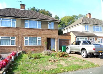 Thumbnail 3 bed semi-detached house to rent in Leaford Crescent, Watford