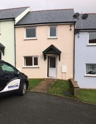 Thumbnail 3 bedroom terraced house to rent in Cae Gerddi, Goodwick
