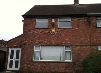 Thumbnail 3 bed semi-detached house to rent in Youatt Avenue, Whiston, Prescot